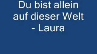 Watch Laura Du Bist Allein video