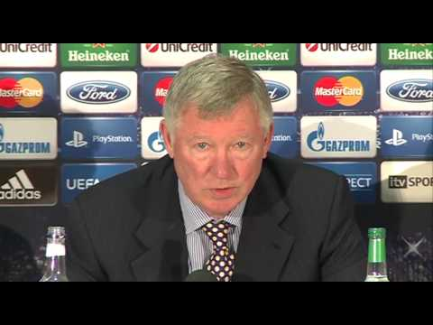 Sir Alex Ferguson Interview on Rio Ferdinand race-row - Manchester United v Braga - Champions League
