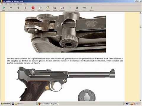 Les différents modèles de pistolets Luger - HLebooks.com