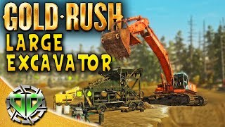 Gold Rush the Game : LARGE EXCAVATOR & MAGNETITE TRAILER! Re-Upload (PC Lets Play)