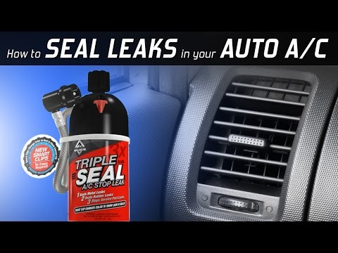 AC Avalanche Triple Seal - Seals Metal and Rubber Air Conditioner Leaks