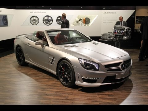 2013 Mercedes-Benz SL63 AMG -- 2012 Geneva Auto Show