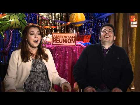 Alyson Hannigan & Jason Biggs - American Pie 4 Das Klassentreffen interview (2012)