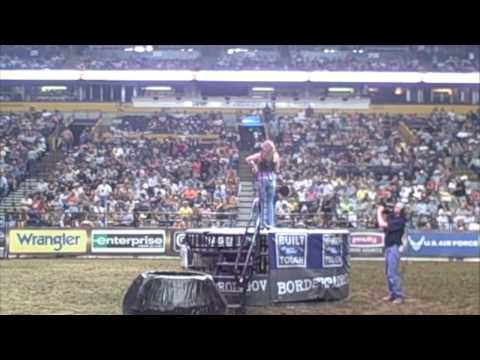 Shea Fisher- PBR Bull Riding Behind the scenes Video