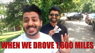 DhoomBros - When We Drove 1,600 Miles (Waqas Vlog #1)