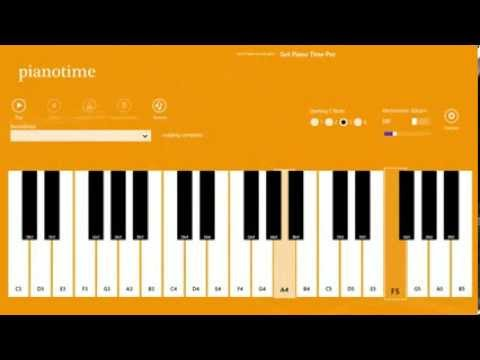 Play Thandavam theme music on Piano Piano tutorial Play easily