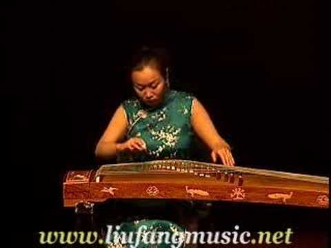 Chinese classical music for zither guzheng solo 漢宮秋月by Liu Fang 劉芳 Video