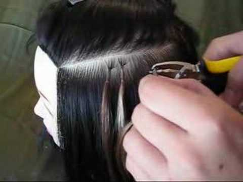 Keratin Tips For Hair Extensions Keratin Tipped Hair Extension