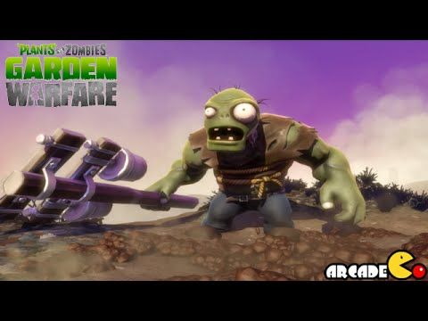 Plants Vs. Zombies: Garden Warfare Super Gargangtuar Boss Wave