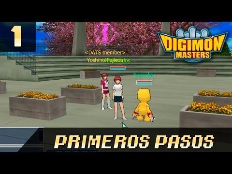 Digimon Masters Online - DMO 1. Los Primeros Pasos