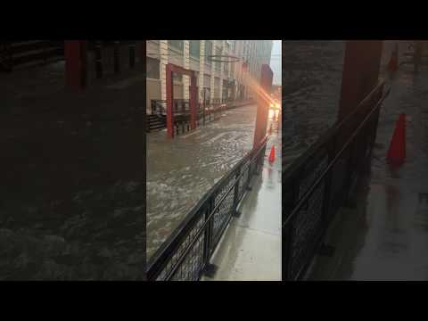 Flooding in Sunset Park Brooklyn