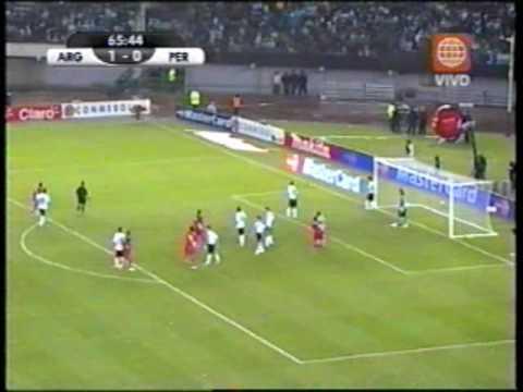 Argentina vs Peru 2 a 1 Eliminatorias Sudafrica 2010 Parte 2