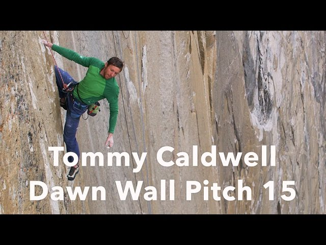 Tommy Caldwell Climbing Pitch 15 | The Dawn Wall