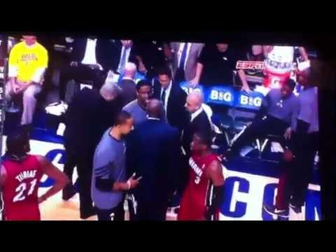Dwyane Wade arguing with Coach Erik Spoelstra and gets mad at teammates
