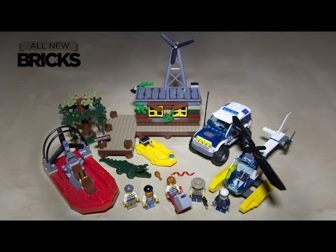 Lego City 60068 Crooks Hideout Speed Build Review