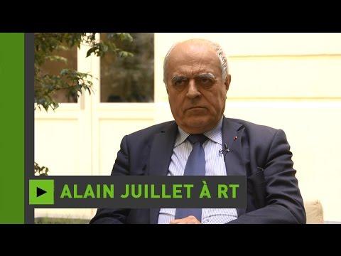 Alain Juillet : «La guerre aujourd'hui, c'est devant un ordinateur»