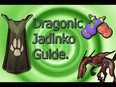 Runescape – Dragonic Jadinko Hunting guide. Fully explained Tracking, Planting and xp rates.