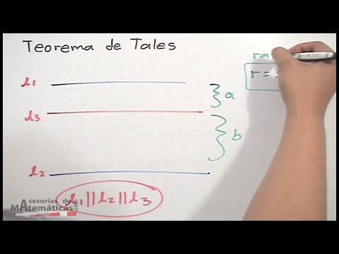 Teorema de Tales - P1 - HD