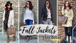 Top 8 Fall Jackets | You Need!