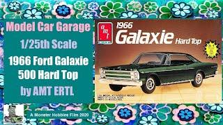 Model Car Garage - 1966 Ford Galaxie 500 Hard Top by AMT ERTL