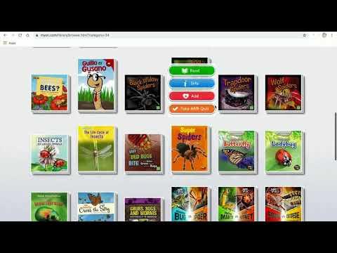 20 MyOn for Reading Online Books (Primary)