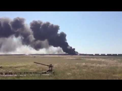 Freight trains collide in Oklahoma: 3 people missing - Worldnews.