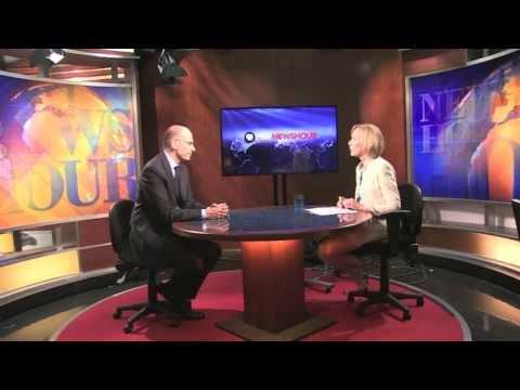 Incontro a Washington tra Enrico Letta e Barack Obama - Intervista con la PBS
