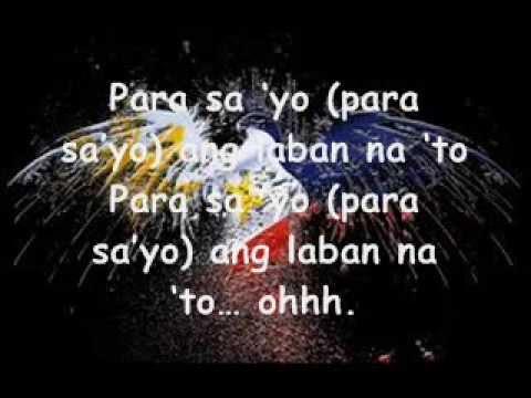 Manny Pacquiao - Para Sayo Ang Laban Na To