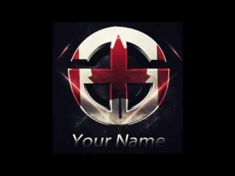 Free Logo Template Photoshop Youtube