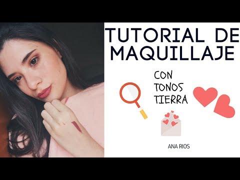 MAQUILLAJE CON TONOS TIERRA | Ana Rios 💓