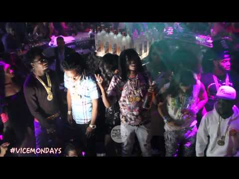 Migos handsome & wealthy video shoot