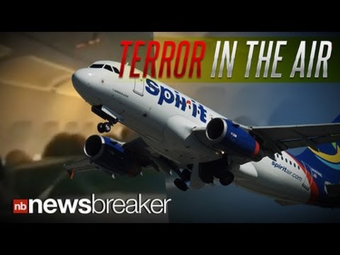 TERROR IN THE AIR: Passengers Panic After Engine on Plane Explodes Mid-Flight