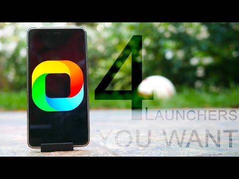 Top 4 Launchers YOU Wanted! Android Tips #49