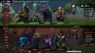 [Dota 2 Live] The Alliance vs The Final Tribe (map 1) | StarLadder ImbaTV Dota 2 Minor | Bo2 | 🔴