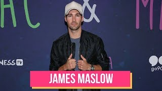 "James Maslow Talks New Single ""Who Knows"" & Jingle Ball 