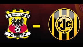 Go Ahead Eagles - Roda JC