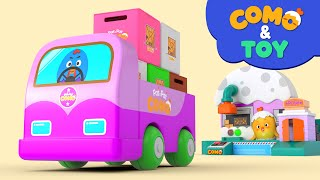Como | Delivery  | Learn colors and words | Cartoon video for kids | Como Kids TV