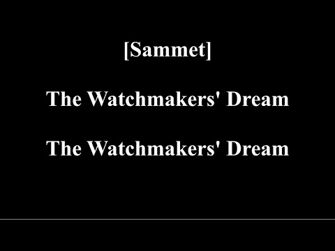 Avantasia - The Watchmakers Dream