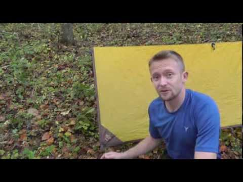 How to Setup an A-Frame Tarp Shelter - The Outdoor Gear Review