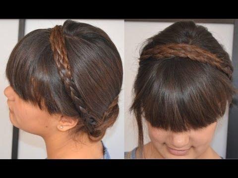 Peinados fáciles, rápidos y bonitos para jóvenes, para clase, el trabajo 17