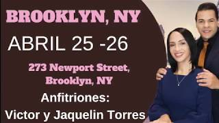 New York   25 y 26 de Abril   Pastores Geovanny y Sondy Ramirez