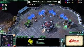 Ritmix RSL, группа D: FXOBratOK vs mouzCCMorrow Part 01 - [Starcraft II]