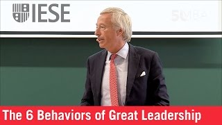 The 6 Behaviors of Great Leadership: Franz M. Haniel, Haniel Chairman