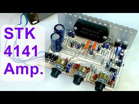 DIY Audio Amplifier Board STK 4141 II ( Hindi Electronics ) ELECTROINDIA thumbnail