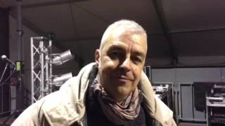Davide Van De Sfroos - video intervista Carnevale Craveggia 2016