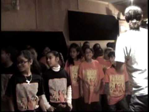 In The Studio with PASSION PIT & PS22 Chorus  (Part 1 of 7 series)