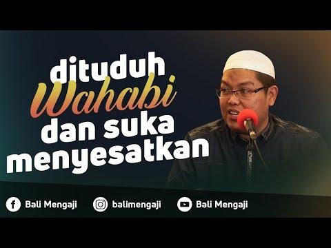 Video Singkat: Dituduh Wahabi & Suka Menyesatkan - Ustadz Dr. Firanda Andirja, MA