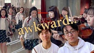 The Most AWKWARD Musical Battle