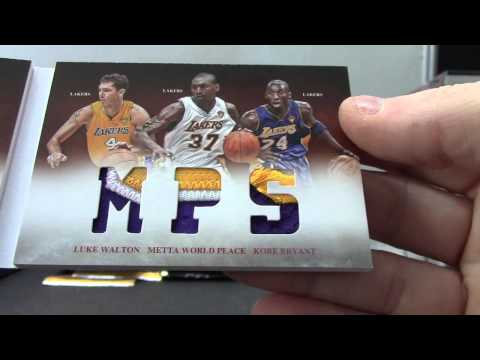 Ken's 2012/13 Preferred Basketball 3 Box Break