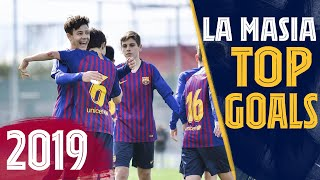 BEST GOALS IN 2019 FROM LA MASIA